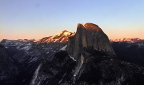 Sunset on Half Dome, Yosemite National Park