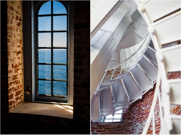 inside Point Sur Lighthouse