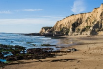 sculptured beach, point reyes national seashore